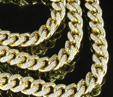 where to buy chains for jewelry miami cuban link fully iced out cuban link chain and