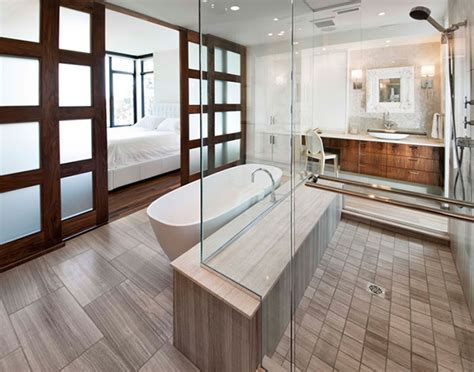 modern ensuite bathrooms ensuite bathroom design by vok design
