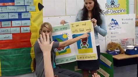 teaching with picture books teaching with shared reading of a big book