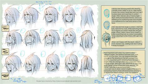 drawing tutorials tutorial drawing heads by goku no baka on deviantart