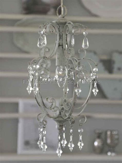 chic chandelier chic antique chandelier with prisms antique white small