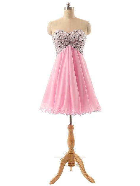 pink beaded dress pink sweetheart beaded bodice homecoming dress with lace