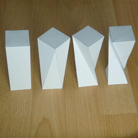 rectangular prism origami 1000 images about lesson sculpture 3d construction