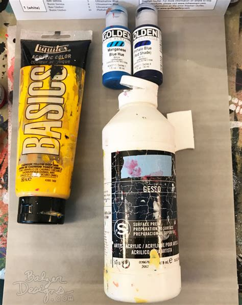 tag paint ingredients balzer designs summer stencil techniques with suzanne