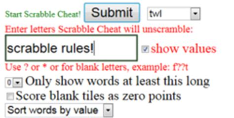 scrabble cheats word finder scrabble the free scrabble word finder is