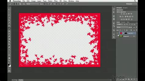 how to make cards in photoshop photoshop cs6 tutorial how to create custom borders