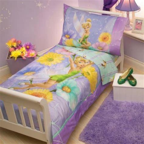 tinkerbell bed sets disney tinkerbelle 4 pc toddler bedding set walmart
