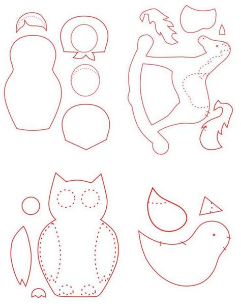 ornaments templates free free patterns for felt ornaments vintage craft