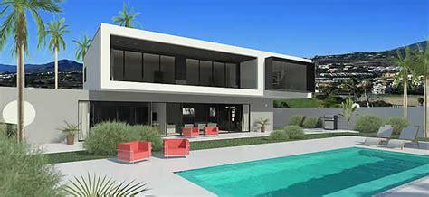 Minimalist Villa Project With Panoramic Views Over Los Naranjos Golf