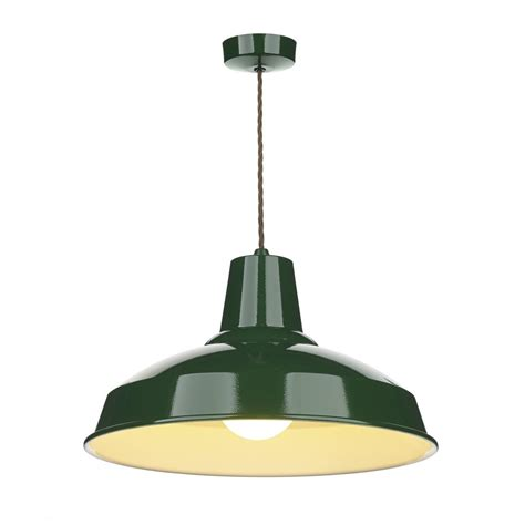 green ceiling light industrial retro style metal ceiling pendant light in