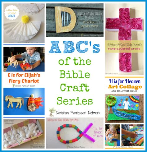 craft for of all ages abcs of bible crafts for christian montessori network