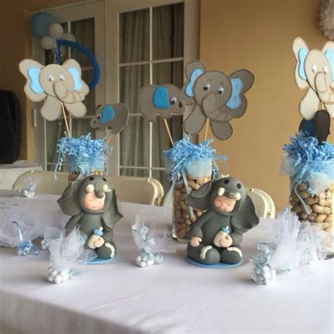 elephant themed baby shower centerpieces elephant theme baby shower centerpieces baby shower