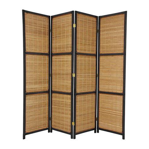 shop furniture room dividers 4 panel black