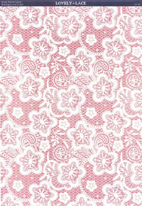 lace craft paper kanban crafts lovely in lace printed background card