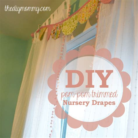 diy nursery curtains make boutique nursery drapes with pre made curtains and