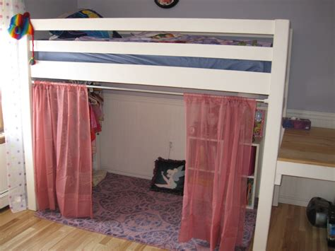 loft bed curtains white junior bunk bed with curtains and dress area