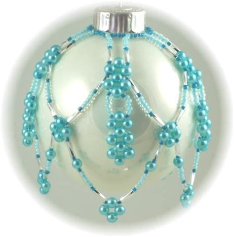 Free Beaded Ornament Cover Patterns Crafts