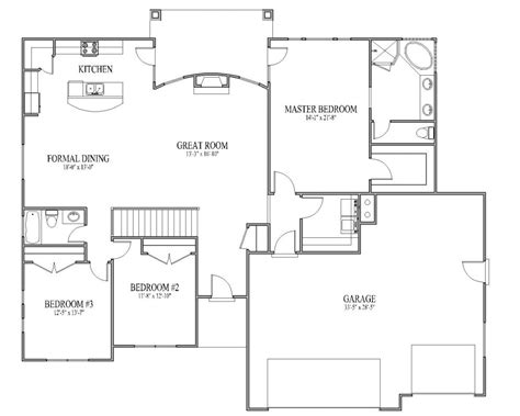 house plans with open floor plans simple open house plans smalltowndjs
