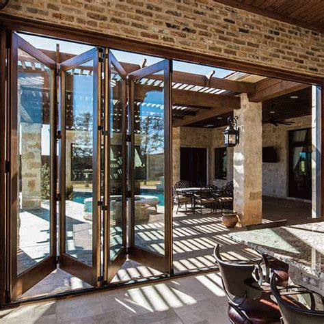 pella patio doors architect series traditional bifold patio door pella