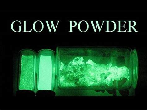 glow in the powder to mix with paint how to make glow in the powder