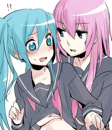 vocaloid yuri miku x luka images wallpaper and background photos
