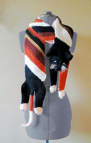 knitted cat scarf pattern knitted cat scarf pattern free tutorial