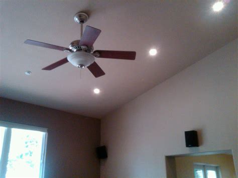 Replacement Light Fixture For Ceiling Fan How To Replace A Recessed Light Fixture With Ceiling Fan