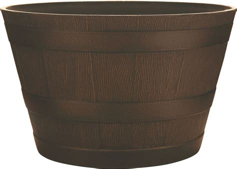 southern patio planters southern patio hdr whiskey barrel planter ebay