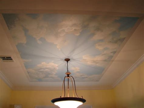 painting clouds on ceiling best 25 bathroom ceiling paint ideas on