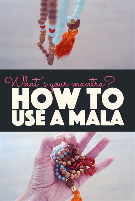 how to use mala how to use a mala what s your mantra banana bloom