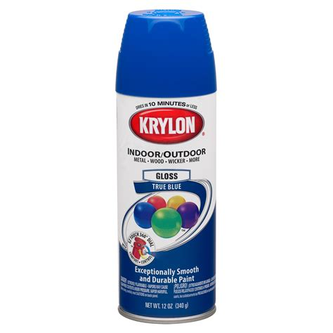 spray paint krylon krylon true blue paint spray shop your way