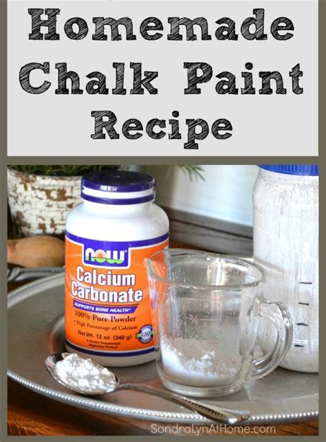 diy chalk paint spackle diy chalk paint recipe lyn at home