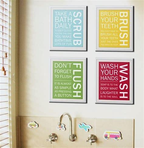 Bathroom Art Ideas art for kids bathrooms