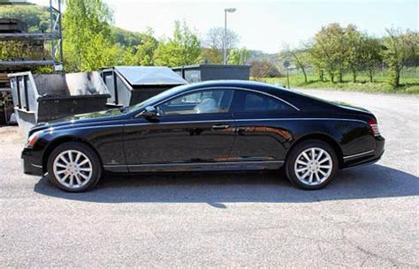 Maybach 2 Door by Rick Ross Privately Ordered 1 2 Million Maybach 2 Door