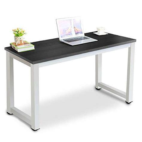 modern study desk tribesigns modern stylish computer desk pc laptop study t