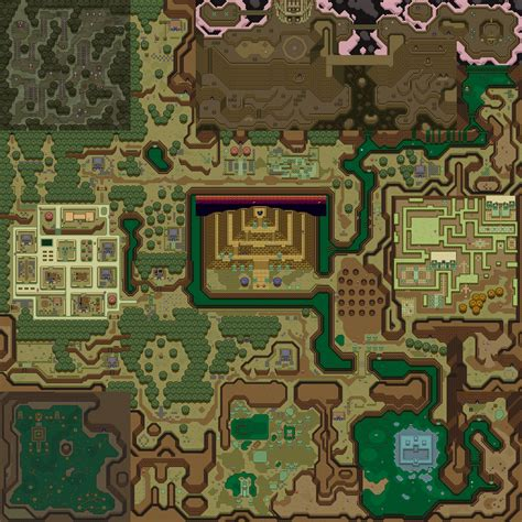a link to the past a link to the past maps