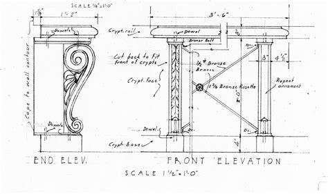 interior design blueprints blueprint records mission mausoleum page of david g