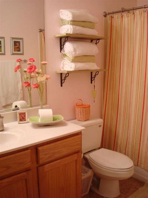 pink and green bathroom home