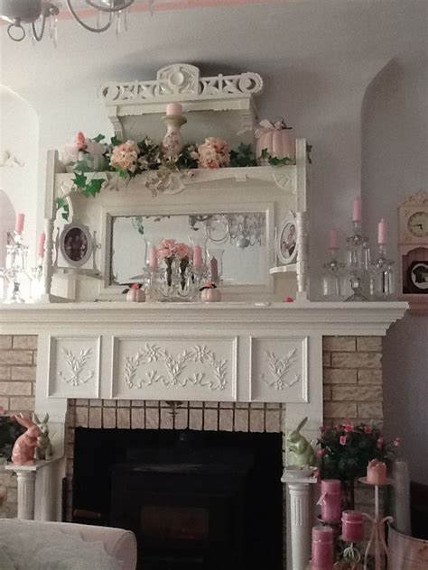 shabby chic mantel decor best 25 shabby chic mantle ideas on shabby