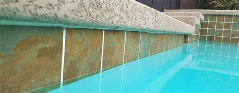glass bead blasting pool tile casa grande pool tile cleaning before and after