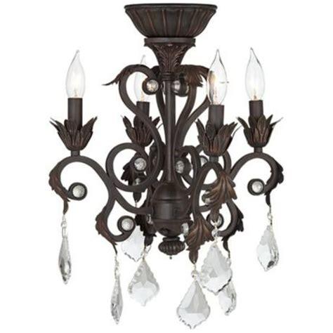 ceiling fan chandelier light kits 4 light rubbed bronze chandelier ceiling fan light kit