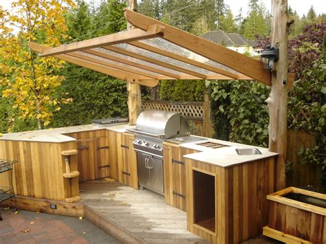 back yard kitchen ideas 95 cool outdoor kitchen designs digsdigs