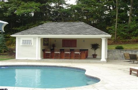 pool house plans with bathroom prefab pool house with bathroom goodhome ids