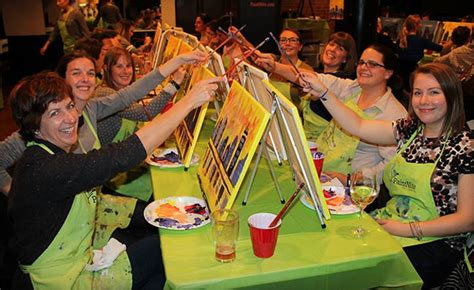 paint nite calgary discount code wagjag 25 for admission to a 2 hour paint event a