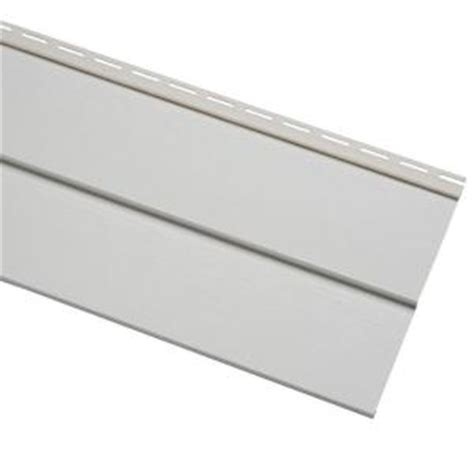 home depot paint vinyl siding cellwood progressions 11 in x 144 in white d5 vinyl