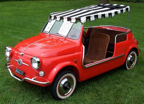 Fiat 500 Jolly by Fiat 500 Ghia Jolly