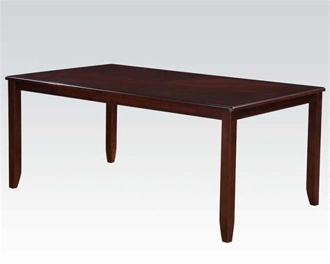 acme dining table acme rectangular dining table oswell ac71595