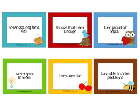 make your own affirmation cards 4 tips for teaching children affirmations kiddie matters