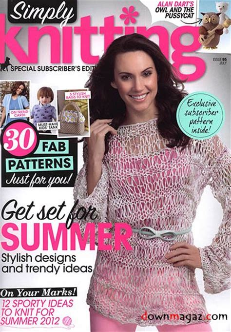 Simply Knitting Issue 95 July 2012 187 Pdf