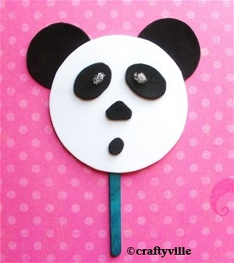 panda crafts for easy panda craft for